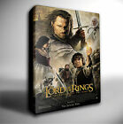LORD OF THE RINGS RETURN OF KING FILM POSTER GICLEE CANVAS ART *Choose your size