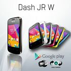 Blu Dash Jr D140W 2G Android Dual Sim Unlocked GSM Cell Phone Colors New
