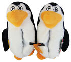 Ladies Novelty Slippers Boys Girls Penguin Warm Slipper Shoes Womens Novelties
