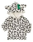 NWT Gymboree Fancy Dalmations Hooded Sweater Cardigan 3-6 / 5T Button Front