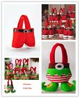New Santa Pants Spirit Candy Bags Child Trick-or-treat  Bag for Christmas Gift W