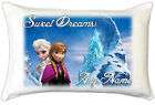 Frozen Elsa & Anna Childs Bedroom Personalised Pillow Case Great Gift Idea
