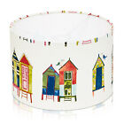 Beach House/Hut & Lighthouse Red or Candy Lampshade, Ceiling Pendant, Table Lamp