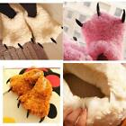 Animal Paw Indoor Anti-slip Slippers Men/Women Warm Soft Adorable Winter Shoes