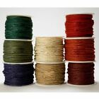 "Burlap Hessian 1/8"" String Gift Wrap Bow Rustic Craft Décor Jute Cord Ribbon 3m"