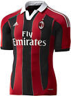 AC MILAN 2012-13 HOME FOOTBALL SHIRT RED/BLACK ADULT SIZES MED TO XXL BNWT