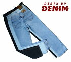 Unisex Lee Vintage Brooklyn Chicago Straight Leg Denim Jeans W28 29 30 32 34 36