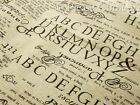 Cotton Linen Retro English Newspaper Print Fabric Cloth