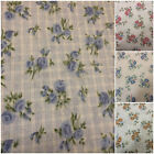 Single Bed 100% Brushed Cotton Flannelette Floral Sheet Fitted Flat Pillow Cases