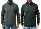Mens Foray Casual Zip Neck Smart Jumper Warm Winter Sweaters Top Long Sleeved