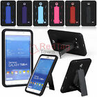 """Hybrid Rugged Stand Hard Case Cover for Samsung Galaxy Tab 4 7.0"""" SM-T230NU T237"""