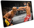 MMA Anderson Silva Cote Sports SINGLE CANVAS WALL ART Picture Print VA