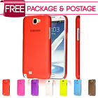 Ultra Thin 0.5mm Stylish Hard Case Cover For Samsung Galaxy Note 2 II N7100