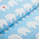 100% COTTON COT FITTED SHEET PRINTED PATTERNED COLOUR NURSERY BABY BED 60x120 cm