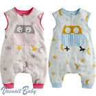 "NWT Vaenait BabyToddler Boy Girl Clothes Soft Blanket Sleeping bag ""Cotton owl"""