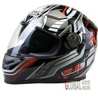 VIPER RS-V9 Dimension Motorcycle Motorbike Motocross MX Helmet ACU Gold BLK/Red