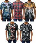 Mens Dead Lovers Casual T-Shirt Various Street Graphic Printed Satanic Top Tee T