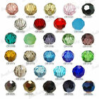 20pcs Round 8x8mm Crystal Glass Beads Faceted Pendants czech Cut crafts