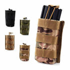 Army Airsoft Paintball CS Rifle and Pistol Magazine Pouch Hook Holster Pouch Bag