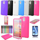 Ultrathin Slim Flip TPU Wrap Up Phone Case Cover For Samsung Galaxy NOTE 3 N9000