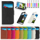 New Flip S-VIEW Wallet Stand Leather Case Cover For Samsung Galaxy S4 I9500