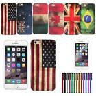 "Vintage Retro National Flag Hard Plastic Back Case Cover For iPhone 6 4.7""    DA"