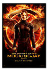 Framed The Hunger Games Mockingjay Part 1 Katniss Poster Official  Ready to Hang
