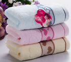 New 100% Bamboo Fiber Weaved Sateen Lovers Cleaning Hand Towel Face Beauty Towel