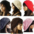 Cheap selling new Winter Warm Knitted Crochet Slouch Baggy Beret Beanie Hat Cap