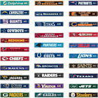 "NFL Street Sign (Choose Your Favorite Team Name) 4""x24"" Football Logo Man Cave $12.99 USD on eBay"