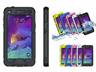 Touchtone Waterproof Shockproof Case Cover for Samsung Galaxy Note 4 N9100