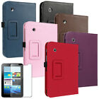 PU Leather Case With Stand For Samsung Galaxy Tab 2 7 inch Tablet P3100 +Film