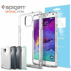 Bundle Spigen Ultra Hybrid Case+Screen Guard Crystal for Samsung Galaxy Note 4
