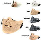 War Game Airsoft Hunting Half Face Mask Zombie Evil Cosplay M05 Gear Costume