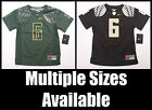 NWT Youth Boy NIKE OREGON DUCKS #6 Charles Nelson Football Jersey KIDS 4~5~6~7