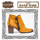 Golden Akara Womens Ladies Shoes Boots 100% Real Authentic Hand Made Leather