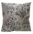 vc10a Black Silver Grey Beige Thick Cotton Upholstery Fabric Cushion Cover/Case