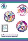 My Little Pony Icing or Wafer paper Toppers for large Cakes VARIOUS SIZES