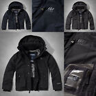 NWT Abercrombie & Fitch Men Classic All-Season Weather Warrior Jacket Hollister