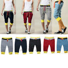 Men Sports Shorts Slacks Pants Harem Training Dance Baggy Jogger Casual Trousers