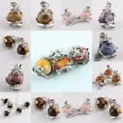 Gemstone Dragon Ball Healing Chakra Cut Crystal Wired Pendant Beads For Necklace