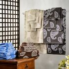 Superior Collection Luxurious Paisley 100% Cotton 6-Piece Towel Set