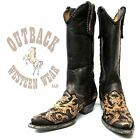 Old Gringo Sonia Boot in Black Outback Exclusive L1602-4