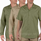 Men's work Shirts Dickies Industrial Patterned Long Sleeve / Short Sleeve Shirt
