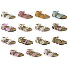 Birki by Birkenstock Tuvalu Kids sandals - pink red blue Disney - Birko-Flor