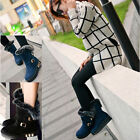 Stylish-2015-Women-boots-Winter-heeled-Ankle-Ladies-Snow-Fur-Boots-Flats-Shoes