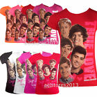 one direction kids shirt - One Direction Girls Unofficial New T-Shirts Kids Short Sleeve 1d Age 5 - 13 year