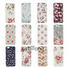 Vintage Floral Flower Hard Phone Case Cover Back Protector f. Apple iPhone 5 5S
