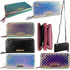 LYDC Ladies Girls The Ive Holographic Diamond Cut PU Clutch/Purse PL268