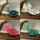PRIMA ELEGANCE Fabric Flower and Butterfly scrapbooking NEW